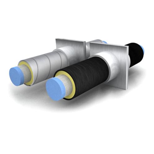 Трубы в ППУ изоляции выпускаются двух типов.