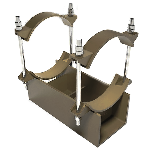 Изготовление и монтаж опор трубопроводов